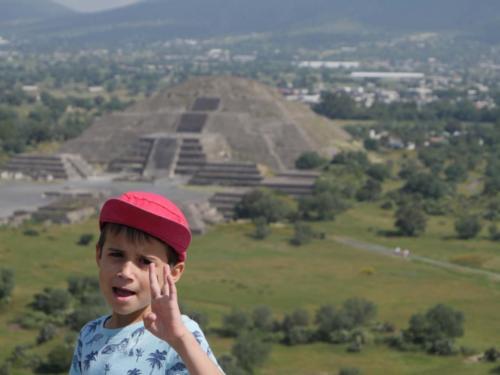 Teotihuacan et Esteban