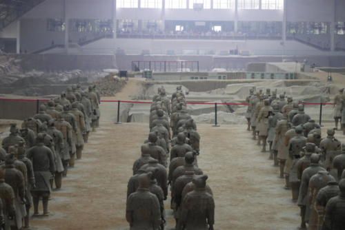 Terra cotta warriors (2)