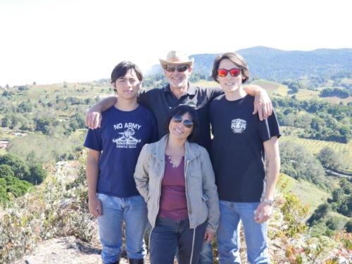 Thomas et sa famille