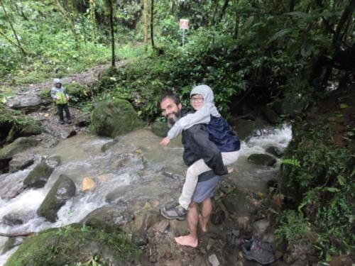 Traversée de rivière