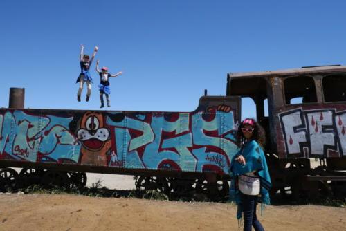 Tren jump, Uyuni
