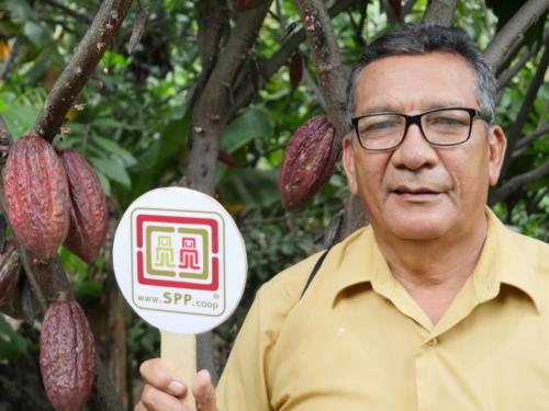 Victor, producteur de cacao Norandino