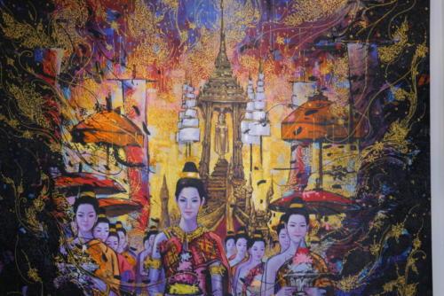 Vientiane painting