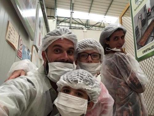 Visite usine Panela