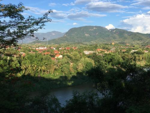 Vue Mont Phou Si