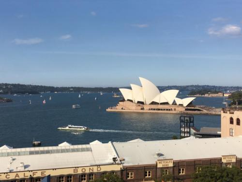 Vue Opéra depuis Harbour Bridge