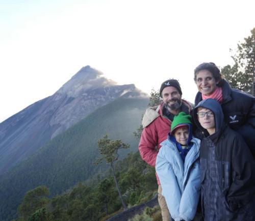 Vue sur le Volcan Fuego