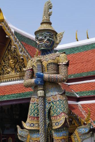 Wat Phra Keo Temple Bangkok (1)