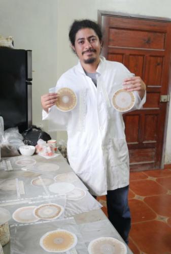 Wilfredo chercheur analyses chromatographiques